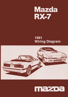 1991 RX7 wiring cover mazda rx 7 reference materials 1985 mazda rx7 wiring diagram at gsmportal.co