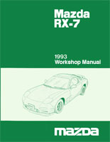 mazda rx 7 reference materials rh wright here net 1984 Mazda RX-7 1993 mazda rx7 repair manual