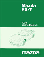 1993 RX7 wiring cover mazda rx 7 reference materials 1989 rx7 wiring diagram at panicattacktreatment.co