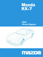 1994 RX7 wiring diagram cover mazda rx 7 reference materials 1991 Rx7 Wiring-Diagram at bayanpartner.co
